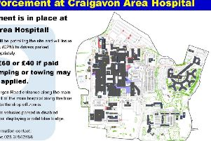 More parking restrictions at Craigavon Hospital