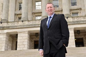 UUP MLA Doug Beattie is a former solider who served in Iraq and Afghanistan