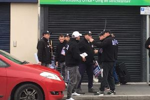 Britain First were in Lurgan at the weekend