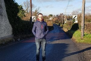 Ciaran Toman on the Castors Bay Road