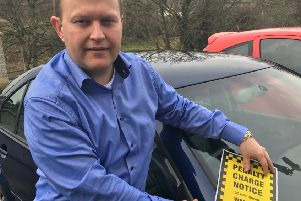 DUP Cllr Gareth Wilson fought on behalf a disabled woman who was issued a parking fine