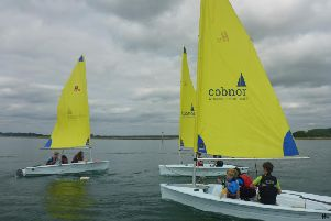 Out on the water at Cobnor