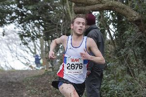 Lachlan Wellington has been gearing up for a shot at the World Cross Country Championships. Picture: Paul Smith