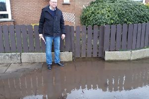 Sinn Fein Cllr Paul Duffy urges action on drainage problems in Portadown's Ballyoran area