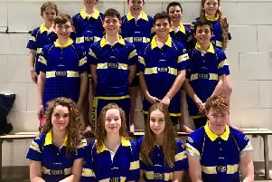 Chi Cormorants at the county championships