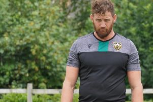 Saints forward Tom Wood is confident his side can cope with the extra expectation this season (picture: Northampton Saints)
