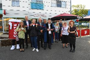 The opening of the Costa branch in September 2017 Picture: Robin Jones / The Digital South