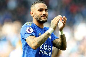 Danny Simpson is training with Huddersfield Town.