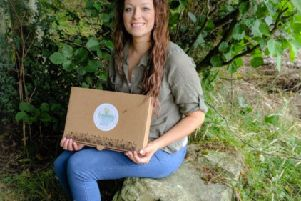 Emma Mc Donald has transformed her lifelong love of nature into a new business, Learning Labyrinth