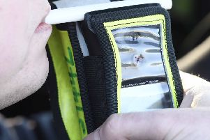"Pacemaker Press 23/11/2016'Police launch  the annual winter drink drive operation in East Belfast on Thursday ,  and from midnight will be using new legislation which gives them the powers to perform random breath tests at vehicle checkpoints.'Assistant Chief Constable Alan Todd explained, ""Our basic message remains the same; there is no safe limit, so never EVER drink and drive. This new legislation gives police another tool that will hopefully help us to prevent people taking life-threatening, unacceptable, simply stupid risks.'Pic Colm Lenaghan/Pacemaker"
