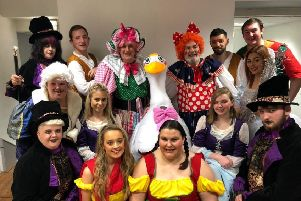 The cast of Mother Goose