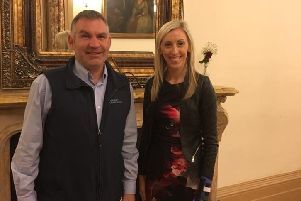 Alan McCormick (Ulster Scots Community Network) and Carla Lockhart MLA