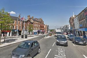 Portadown town centre courtesy of Google