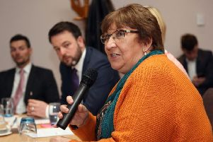 SDLP MLA Dolores Kelly said her party takes a conscience vote position on abortion. Photo: Freddie Parkinson, Press Eye.