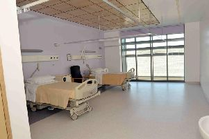 A ward in Craigavon Hospital