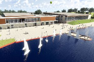 Craigavon's new state-of-the-art �35 million leisure centre plans have been given a seal of approval by the local planning authority, paving the way for a construction start date early next year and full access for all in 2020. The long-awaited proposal, first put forward in 2010, is the biggest capital project ever undertaken by the Council and will provide an enhanced facility to improve the quality of life and wellbeing of the whole Borough. The centre will be unique in the region, offering indoor and outdoor leisure experiences from a single site and is part of a wider and ambitious regeneration programme across the Armagh City, Banbridge and Craigavon Borough area. The facility, which will be situated at the site of the existing Watersports Centre, adjacent to the Civic & Conference Centre and overlooking the South Lake, features an impressive eight-lane, 50-metre swimming pool, a teaching pool, fun pool and a spectator gallery. The new leisure centre, once complete, will also host one of the largest gy