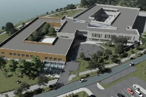 Artist impression of the proposed Southern Regional College campus at Craigavon
