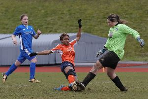 Dionne Manning came close for Luton at the weekend