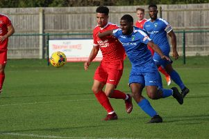 Action from Dunstable's win over Northwood