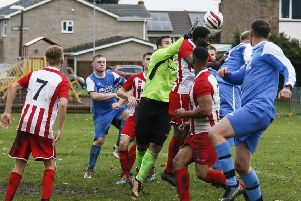 Caldecote v Cranfield. Picture: David Kay.
