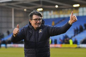 Hatter interim boss Mick Harford