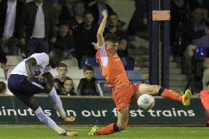 Luton defender Jack James