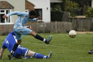 Ickwell v Oakley. Picture: David Kay