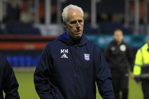 Ireland boss Mick McCarthy during his time as Ipswich manager