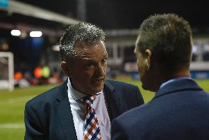 Hatters chief executive Gary Sweet