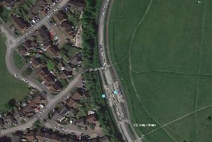 Portland Ride junction Dunstable to Luton busway. Photo from Google Maps