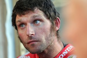 Guy Martin has a provisional entry for the KDM Hire Cookstown 100.