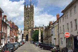St Mary's Church in Warwick.