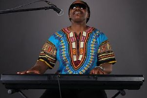 Godfrey Gayle as Stevie Wonder