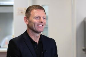 New Luton boss Graeme Jones