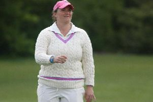 Lucy Uncles crashed an unbeaten 33 in East Preston's defeat. Picture by Derek Martin