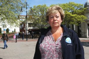 Town centre manager Sharon Clarke