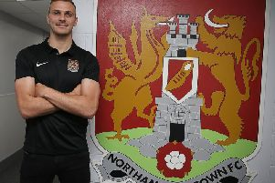 New Cobblers signing Harry Smith