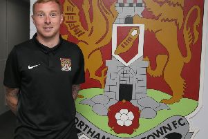 Nicky Adams is a Cobblers player again (Picture: Pete Norton)