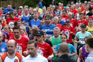 6,000 runners lined up at the start line on Wednesday 19th June to take part in the popular 37th Lisburn Coca-Cola HBC Half Marathon, 10K Road Race and Fun Run.