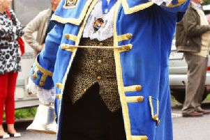 Town crier Bob Smytherman will be at the event