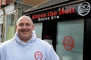 Boxing club owner Chris Wright has launched his campaign