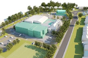 Plans for a new health hub and redevelopment of the Downs Leisure Centre site
