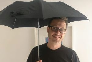 St Mary's Church will be giving out hundreds of umbrellas at Sunday's service