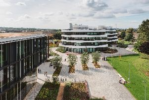 The University of Northampton's new Waterside campus. Photo: University of Northampton