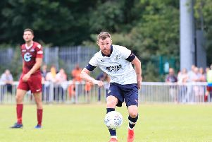 Ryan Tunnicliffe in action for the Hatters