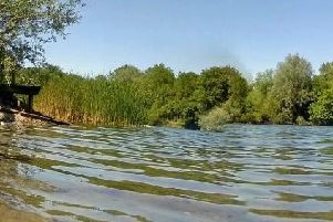Newbold Quarry Park in Rugby - one of the many bodies of open water across the county. Photo: Warwickshire County Council.