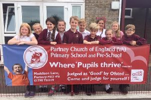 Partney Primary School leavers have had a lot to celebrate.