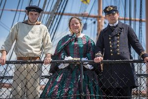 Go back in time to the Victorian age on board HMS Warrior