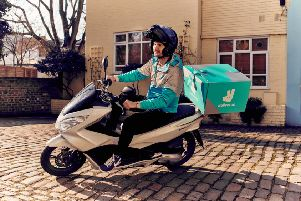 Deliveroo is coming to Haywards Heath. Photo by Mikael Buck / Deliveroo