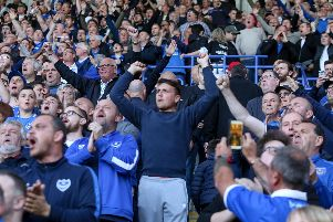 Hundreds of Pompey fans are making the trip up to the north east. Picture: Habibur Rahman